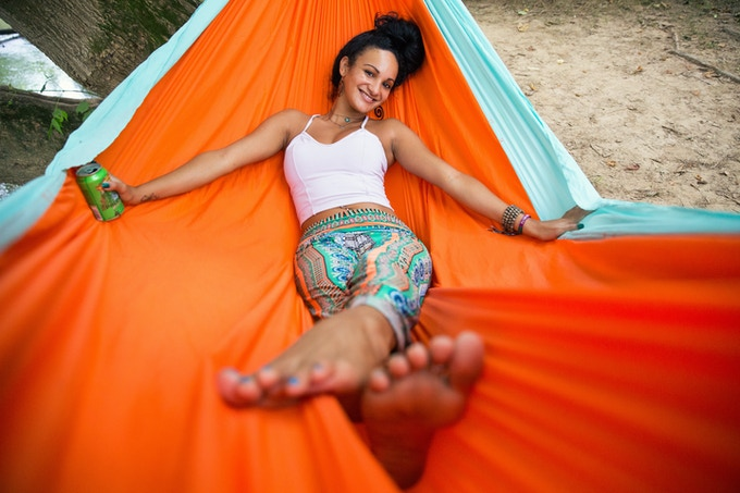 BearTaco Hammocks will comfortably fit two (up to 800 lbs)