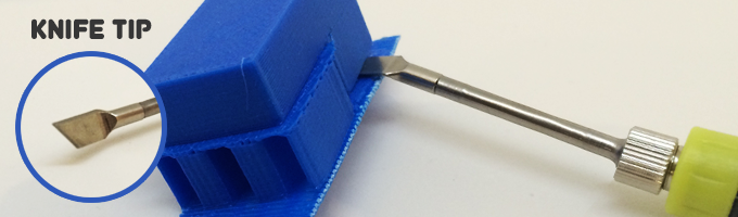 Cutting and removing sections including the removal of supports, brims, and rafts from your 3D print.