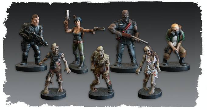 Issue 1 Sculpts - Miniatures supplied unpainted
