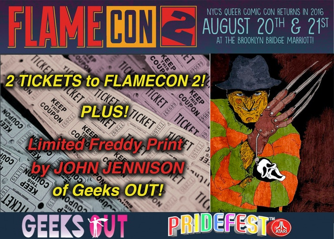2 TICKETS TO 2016 FlameCON!! PLUS More