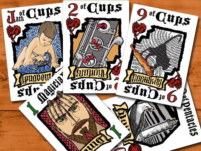 Dead Man's Hand Tarot Playing Cards by Sandow — Kickstarter