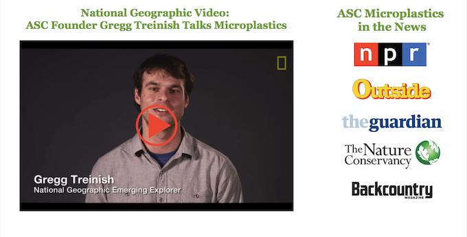ASC's Microplastics by Nat Geo