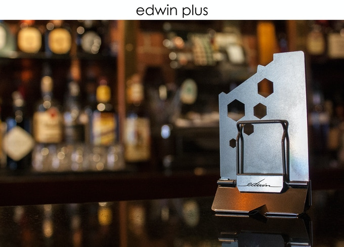 edwin: a modern minimal wallet inspired by the binder clip