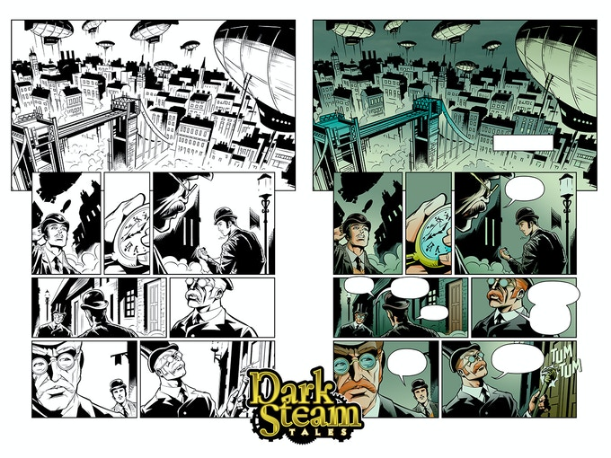 Page 1 Art - BW & Color