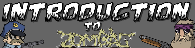 Welcome to the world of Zombag, in it you are the leader of a group of survivors hell-bent on being the best!