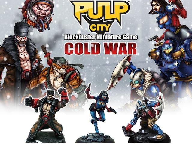 Pulp City Cold War