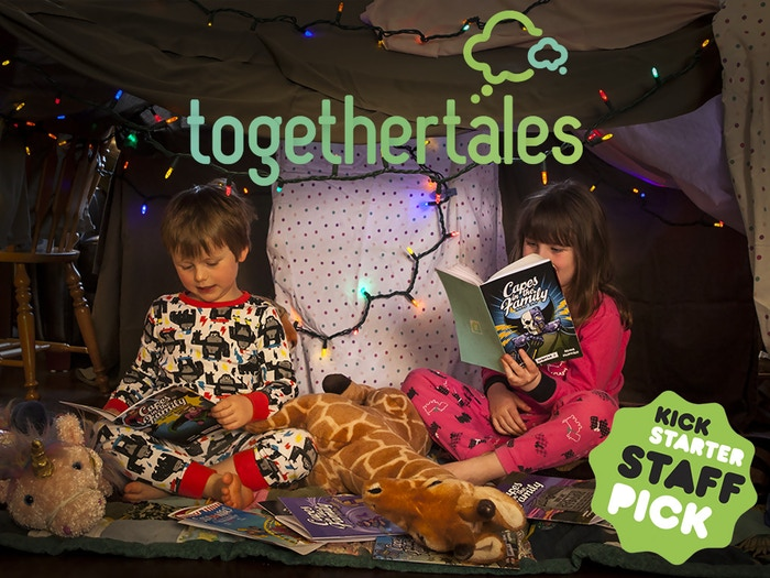 Bring Stories to Life for your Kids! Adventure Kits that feature chapter books, games, puzzles, activities & a little magic from you!
