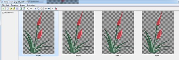 Reeds animation