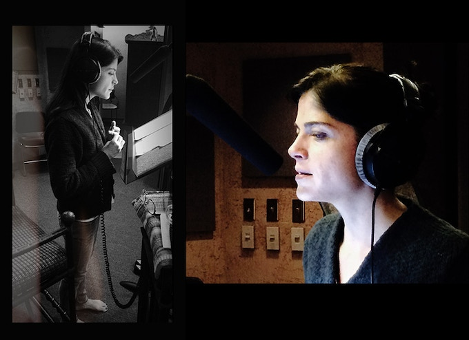 Selma Blair voicing Hesse's journals