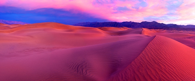 """""""Awaking"""" Death Valley National Park  CA - 275 miles from L.A."""