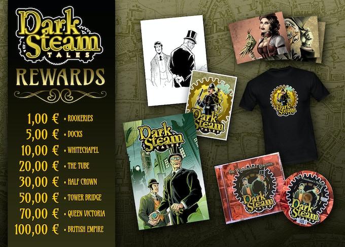 Dark Steam Tales Rewards