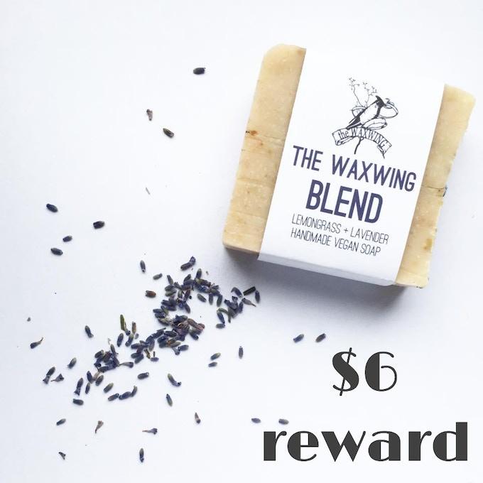Waxwing Blend Soap created by Waxwing shop artist Fern & Nettle, $6 reward