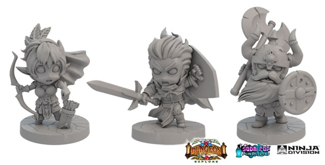 Super Dungeon Explore: 2nd Edition Models