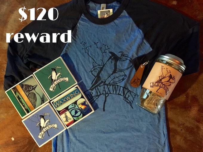 Ultimate Waxwing Reward Package, $120 reward