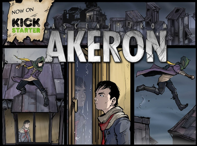 Ascent from Akeron on Kickstarter