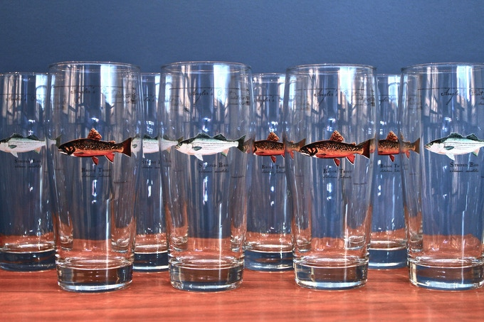 The Brown Trout Angler's Pint will be added to the growing Angler's Pint family of durable and affordable glassware.