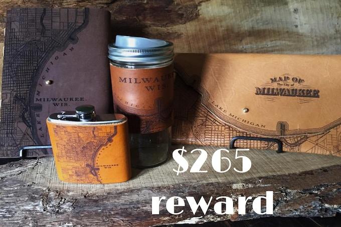 Ultimate Tactile Craftworks Rewards Package, $265 reward
