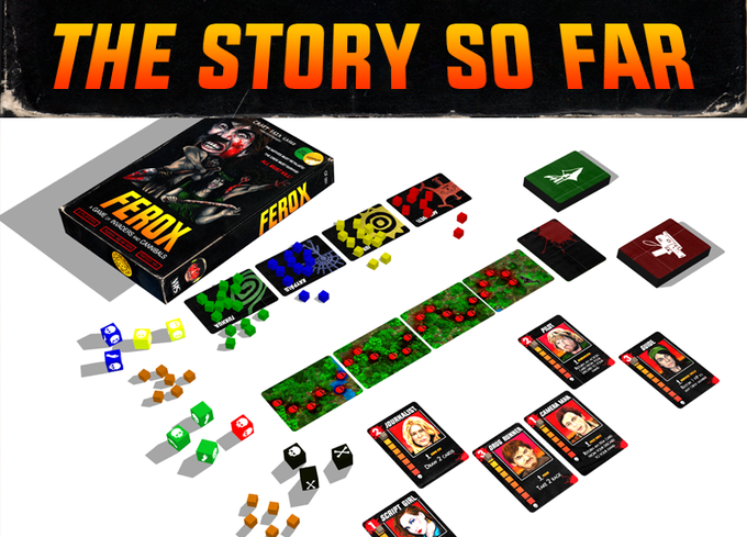 Mock-up of the game.