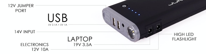 junojumper pro  ultimate portable power source  juno power kickstarter