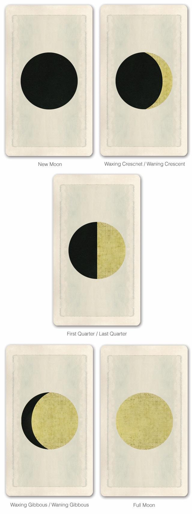 Pagan Otherworlds Luna Cards