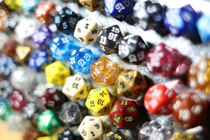 Dice of Curiously Strong Attraction. Oh Yea.