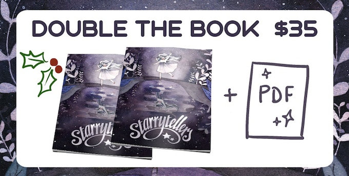 The gifting season is almost upon us! Pick up a print copy of Starrytellers for yourself, and one for a friend. Free shipping domesetically!