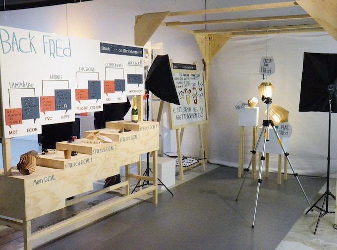 Our Exhibition stand on the DDW 2015, Eindhoven NL