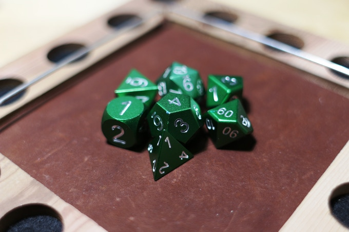 Green Anodized Aluminum