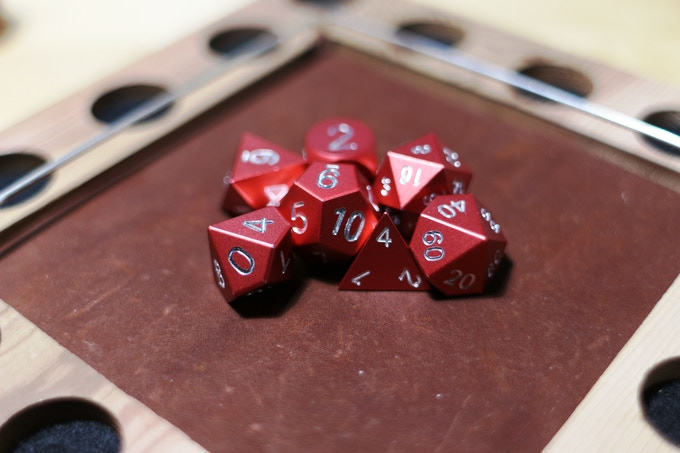 Red Anodized Aluminum