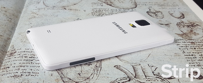 Strip on a Samsung Galaxy Note 4