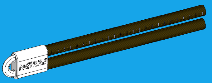 Tail Scale™ T20 Prototype: Base design will change slightly and the measure marking will change.
