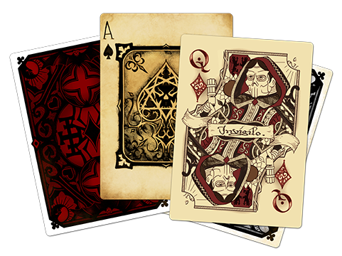 Card design featuring the art of three-time Hugo award-winning artist Cheyenne Wright! (Work in Progress)