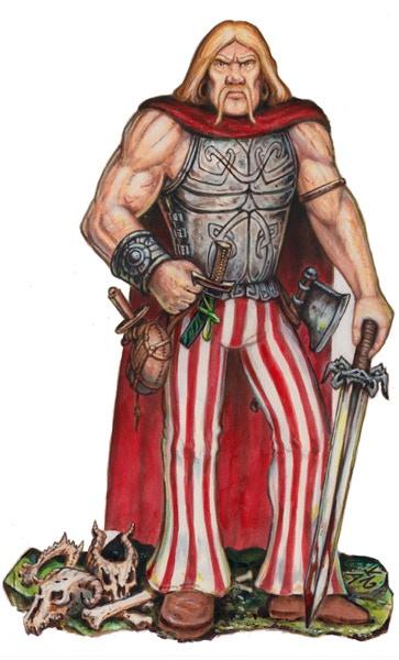 Hugh the Barbarian.