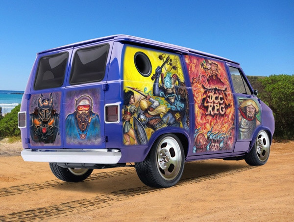 Climb into the wizard van and get ready for the ride of your life!