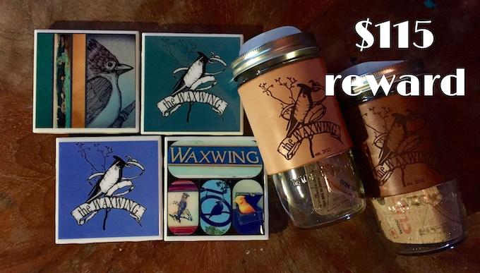 Travel Mugs & Coasters Rewards Package, $115 reward