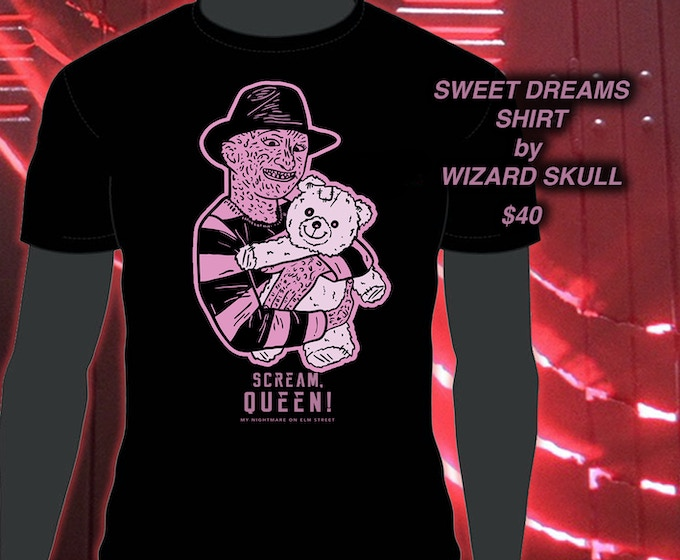 WIZARD SKULL SWEET DREAMS SHIRT