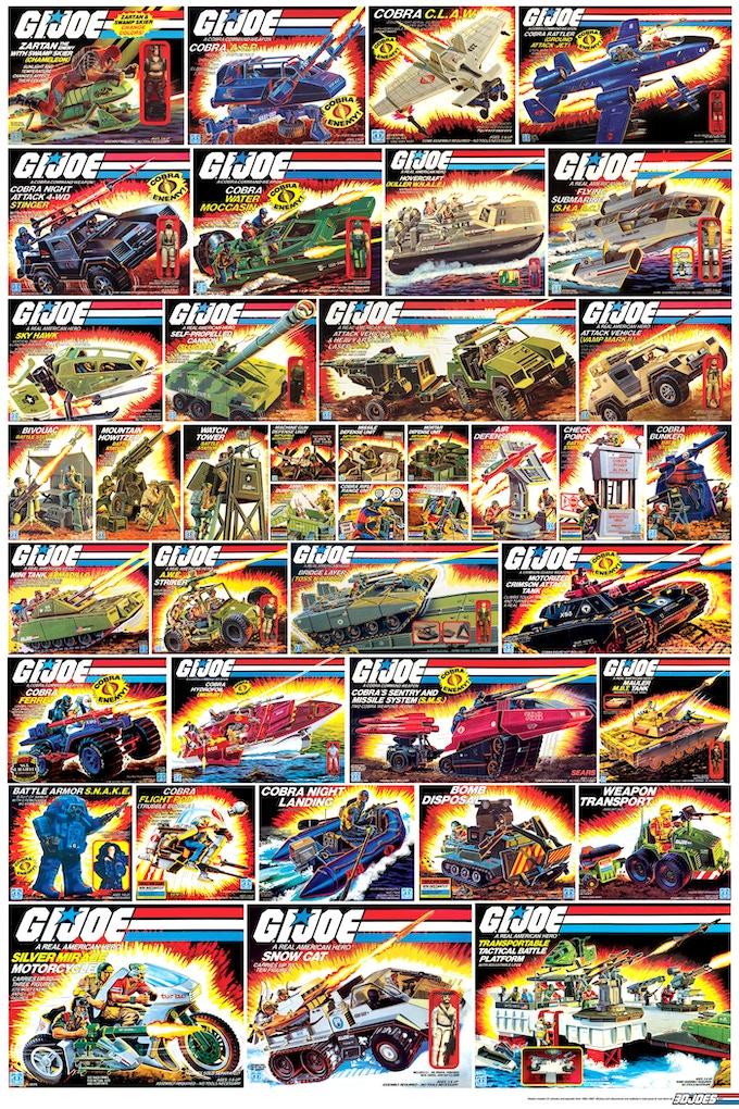 1984-1985 Vehicles poster (art not final)