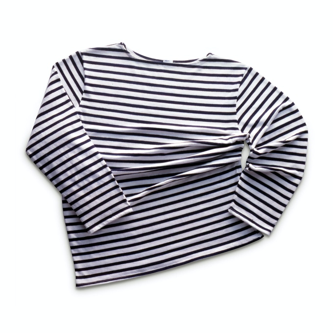 Classic REMO Navy & White Stripey Thing
