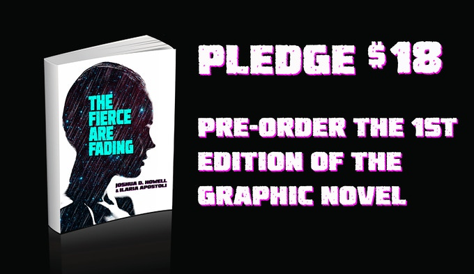 Pledge $18, Get the 1st Edition of the book