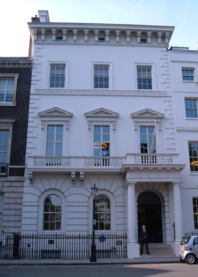 No.12 St James' Park, home of Ada Lovelace.