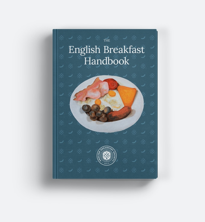 The English Breakfast Handbook : Initial Cover Design