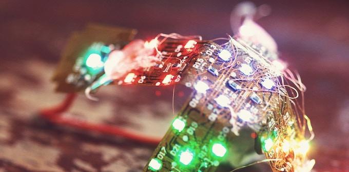 Prototype flexible circuit board