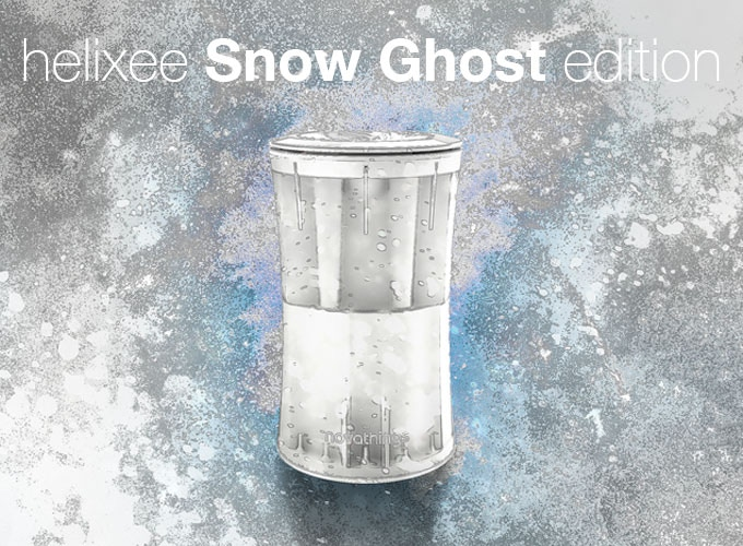 Helixee Snow Ghost limited edition - 2TB HDD