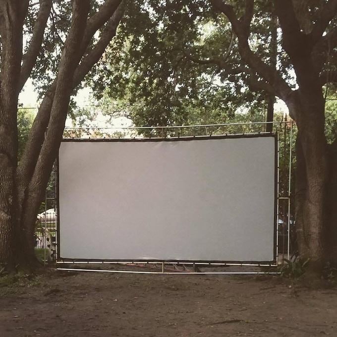 Indywood's Backyard Cinema