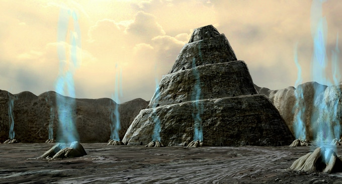 """""""Temple"""" - Level Concept by Lew Fraga"""