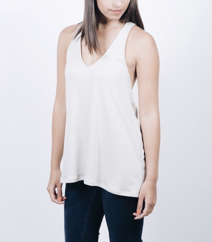 RACERBACK TANK (Available in Black, Gray, White, Tan, and Army Green) (Sizes: XS, S, M, L, XL)