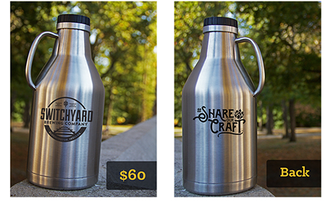 #ShareOurCraft Exclusive Double Wall Insulated Growler