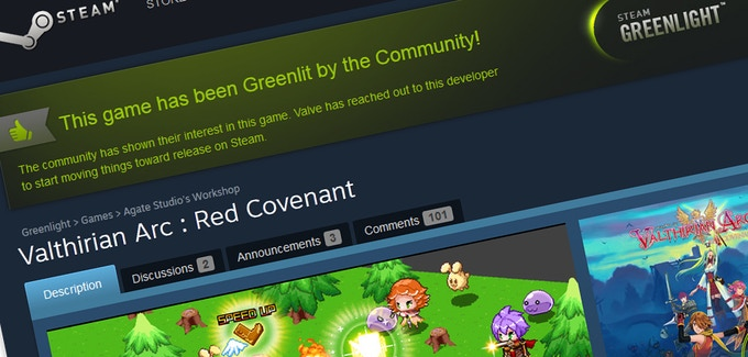 We have been Greenlit! Thanks so much for your support!