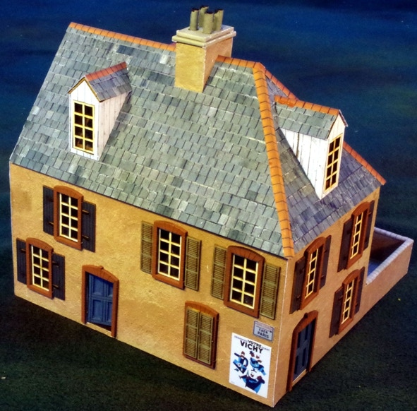 28mm Normandy Right Terrace Kit