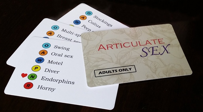 Articulate Sex game cards sample